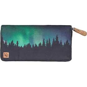 tentree Banker Zip Wallet Dame Meteorite Black/Northern Juniper Sub